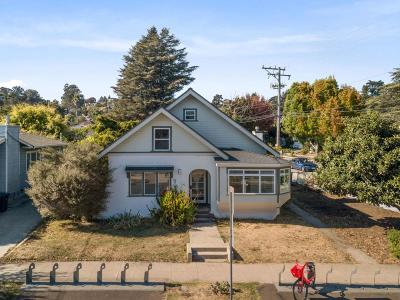 Santa Cruz Single Family Home For Sale: 1206 King St