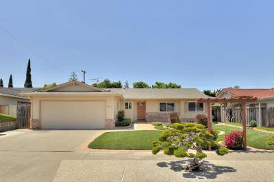 SAN JOSE Single Family Home For Sale: 1243 Gehrig Ave