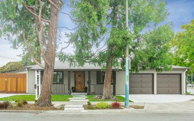 MOUNTAIN VIEW Single Family Home For Sale: 1242 Snow St