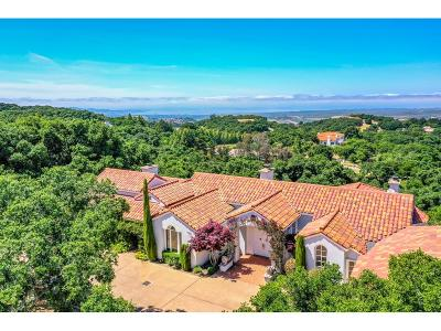 MONTEREY Single Family Home For Sale: 11971 Saddle Rd