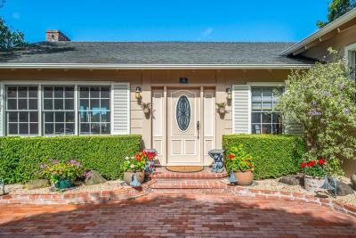 Monterey County Single Family Home For Sale: 26222 Dolores St