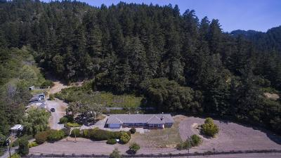PESCADERO Single Family Home For Sale: 4931 Pescadero Creek Rd