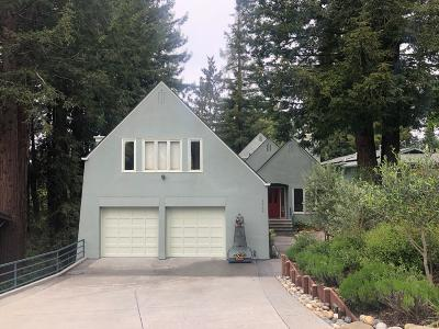 SOQUEL Single Family Home For Sale: 4545 Fairway Dr