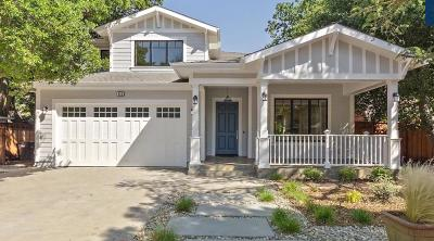 Palo Alto Single Family Home For Sale: 853 La Para Ave