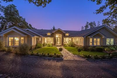 LOS GATOS Single Family Home For Sale: 21121 Brush Rd