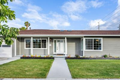 Redwood City Single Family Home For Sale: 1833 Vera Ave