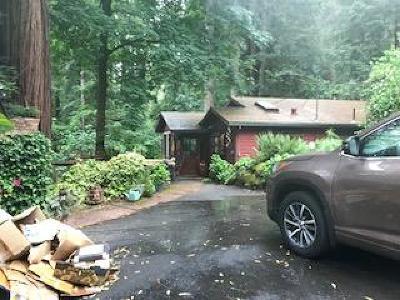 BOULDER CREEK Single Family Home For Sale: 135 Boulder Brook Dr