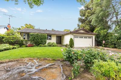 SUNNYVALE Single Family Home For Sale: 153 Leota Ave