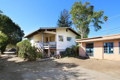 SANTA CRUZ Multi Family Home For Sale: 1211 Webster St