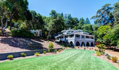 LOS GATOS Single Family Home For Sale: 17915 Foster Rd