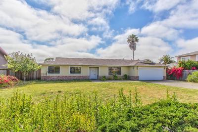 SALINAS Single Family Home For Sale: 9912 Timothy Path