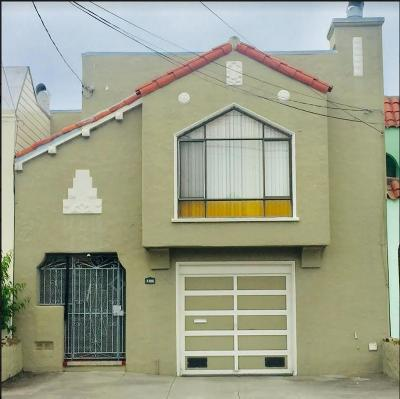 San Francisco Single Family Home For Sale: 2355 46th Ave