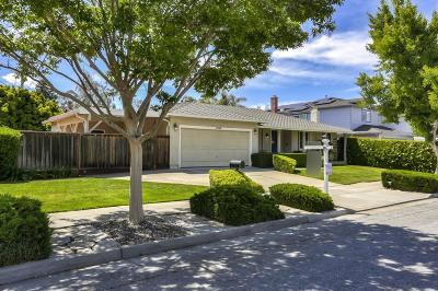 SUNNYVALE Single Family Home For Sale: 1389 Belleville Way