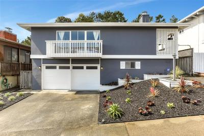 San Bruno Single Family Home For Sale: 3491 Fleetwood Dr