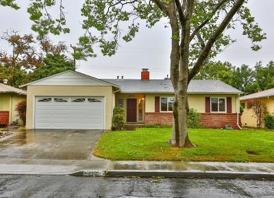 SANTA CLARA Single Family Home For Sale: 2205 Menzel Pl