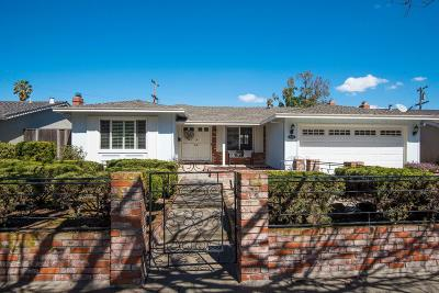 SAN JOSE CA Single Family Home For Sale: $1,199,000