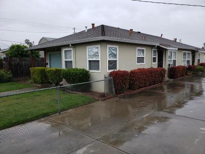 SAN JOSE Multi Family Home For Sale: 282 Goodyear St