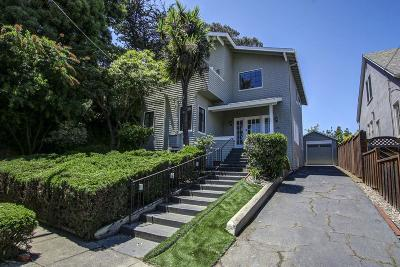 BURLINGAME Single Family Home For Sale: 2116 Broadway