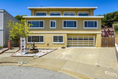 MILLBRAE Single Family Home For Sale: 881 Morningside Dr