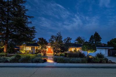 SARATOGA Single Family Home For Sale: 13196 Ten Oak Way