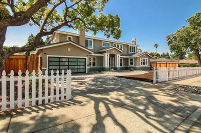 CAMPBELL Single Family Home For Sale: 285 California St