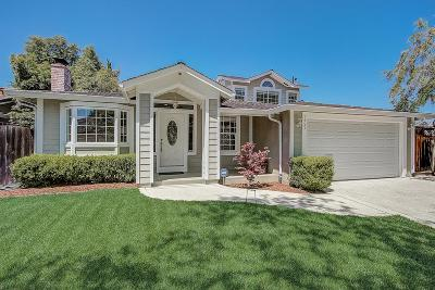 CUPERTINO Single Family Home For Sale: 7453 Kingsbury Pl