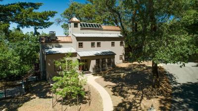 LOS GATOS Single Family Home For Sale: 19980 Skyline Blvd