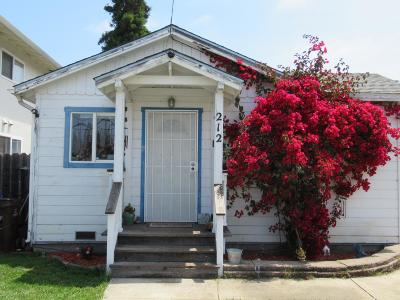 SANTA CRUZ Single Family Home For Sale: 212 Blackburn St