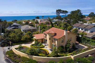 Pebble Beach Single Family Home For Sale: 1007 Ocean Rd