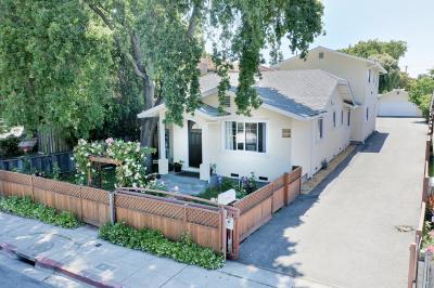 REDWOOD CITY Multi Family Home For Sale: 425 Oak Ave