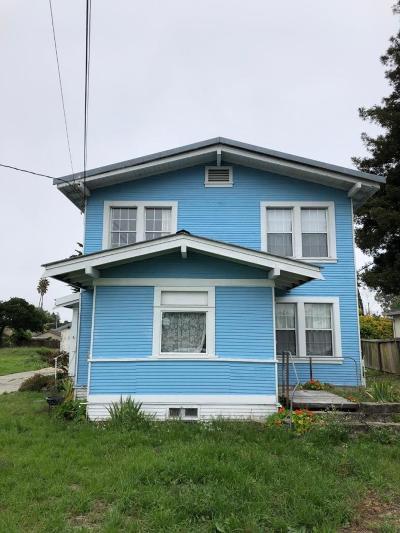 SANTA CRUZ Single Family Home For Sale: 162 Hagemann