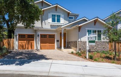 SAN CARLOS Single Family Home For Sale: 887 Elm St