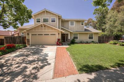 MORGAN HILL Single Family Home For Sale: 2465 Fountain Oaks Dr