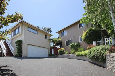 SANTA CRUZ Single Family Home For Sale: 515 Corcoran Ave