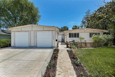 CUPERTINO Single Family Home For Sale: 10280 Vicksburg Dr