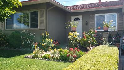 SANTA CLARA Single Family Home For Sale: 3735 Eastwood Cir