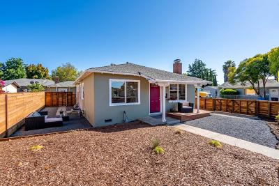 EAST PALO ALTO Single Family Home For Sale: 1100 Garden St