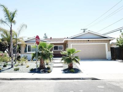 MILPITAS Single Family Home For Sale: 1766 Crater Lake Ave