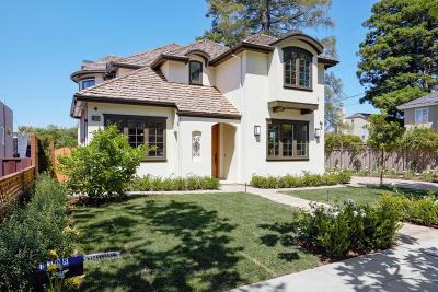 Burlingame Single Family Home For Sale: 1308 Castillo Ave