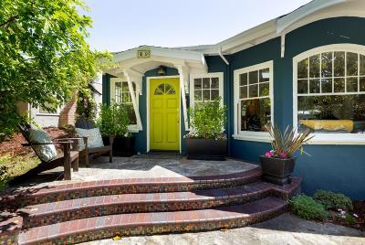 LOS GATOS Single Family Home For Sale: 19 Loma Alta Ave