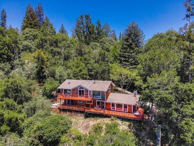 LOS GATOS Single Family Home For Sale: 24701 Santa Cruz Hwy