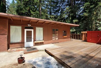 Boulder Creek Single Family Home For Sale: 15424 Big Basin Way