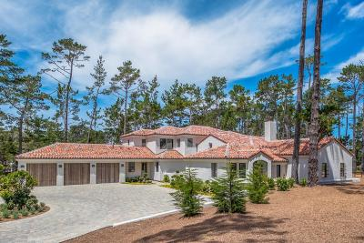 Pebble Beach Single Family Home For Sale: 1425 Viscaino Rd
