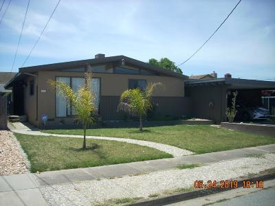 HOLLISTER Single Family Home For Sale: 621 Walnut Ln