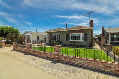 SANTA CLARA Single Family Home For Sale: 1872 Clifford St