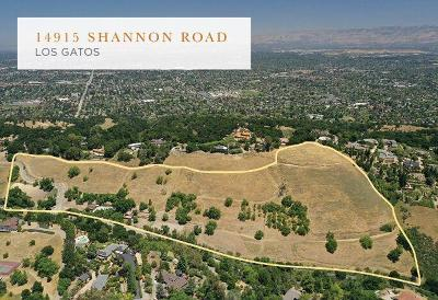 LOS GATOS Single Family Home For Sale: 14915 Shannon Rd