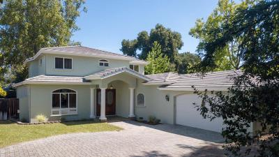 Los Altos Single Family Home For Sale: 1161 Payne Dr