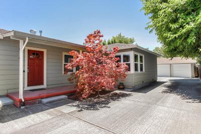 REDWOOD CITY Single Family Home For Sale: 632-636 Myrtle St