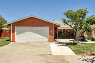 HOLLISTER Single Family Home For Sale: 241 Ranchito Dr