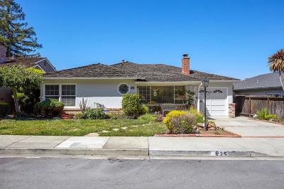 SAN CARLOS Single Family Home For Sale: 925 Lupin Way
